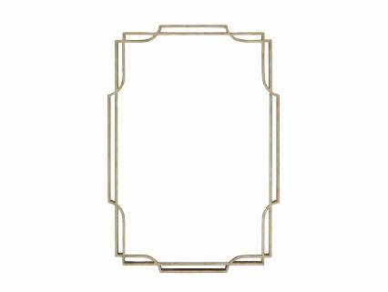 Harwood Metal Mirror