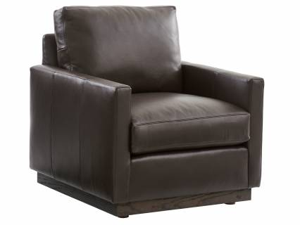 Meadow View Leather Swivel Chair