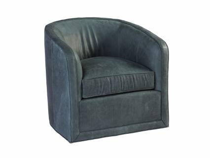 Colton Leather Swivel Chair